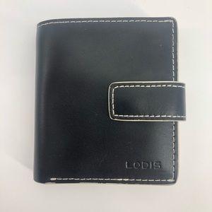 Lodis 'Audrey' Black Wallet  Dimensions: EUC Previ